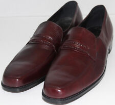 MEN SHOES FLORSHEIM LOAFERS Size 16B BROWN LEATHER NEW