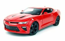 Maisto 1:18 2016 Chevrolet Camaro SS Diecast Model Sports Racing Car Vehicle Red