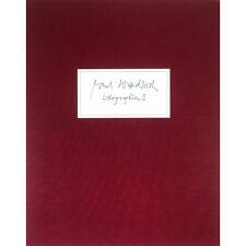 "Paul Wunderlich - Original Grafikmappe ""LITHOGRAPHIEN II"" (3 Lithographien)"