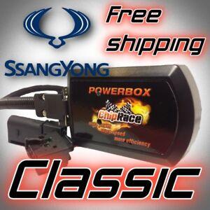 SSANG YONG REXTON I 2.7 Xdi 163 HP TUNING CHIP BOX CHIPTUNING POWERBOX CR TUNING