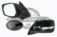 TOYOTA PRADO J150 10/2009 - ON LEFT HAND SIDE DOOR MIRROR WITH BLINKER BLACK