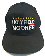 Evander Holyfield vs. Michael Moorer Vintage Baseball Boxing Fight Cap Brand New