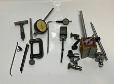 ENCO Model 340 Magnetic Base Indicator Holder And Many Accessories