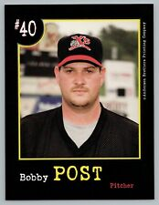 Bobby Post Sioux City Explorers 1999 Jumbo Card Anderson Brothers Printing