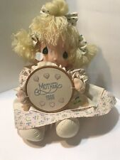 Precious Moments Doll 1986 With 2 Precious Moment Cups
