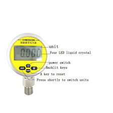 Stainless Steel Digital Pressure Guage Intelligent Vacuum Precision (0-1.6mpa)