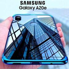 COVER per Samsung Galaxy A20e CUSTODIA ELECTRO + PELLICOLA VETRO TEMPERATO 9H