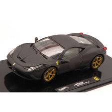 FERRARI 458 SPECIALE 2013 BLACK 1:43 Hot Wheels Auto Stradali Die Cast