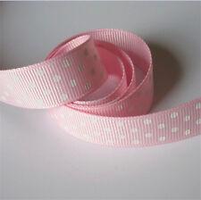 5yd x 16mm Polka Dot Grosgrain Ribbon Lace Trim Bridal Wedding Cake DIY Sewing