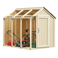Shed Framing Kit Outdoor Garage Barn Garden Storage Building Steel Brackets DIY