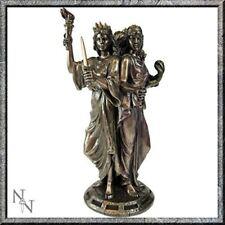 Diosa Griega Hekate Diosa De Magia triple Estatuilla Estatua bronceada Hécate