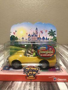 New Disneyland Disney Collectible Toy The Autopia Classic Cars Yellow Chevron