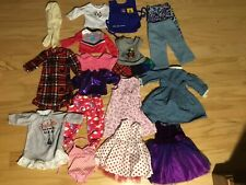 "Huge Lot of 18"" Doll Clothes For American Girl, OG, My Life"