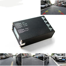 360 View Car Control Box 4 Way Cameras Switch System For Rear Front Side Camera