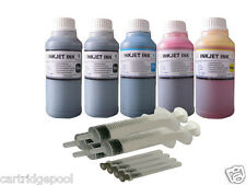 5x250ml refill ink for Canon PG-210 CL-211 PIXMA MP230 MP240 MP250 MP270 MP280