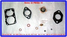 SOLEX 32 PBISA 16, permet. Rep. Taux, Citroen AX 10e, ax 10re