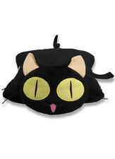 Trigun Kuroneko Cat Pillow Pet Cushion Anime Licensed NEW