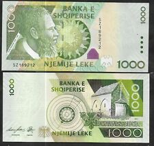 More details for albania - 1000 leks, 2011 series, now replaced, so getting scarce. unc