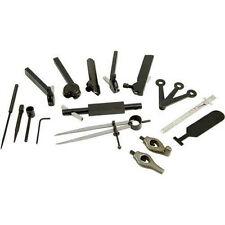 Shop Fox 20 Pc Metal Lathe Turning Boring Layout Tool Kit Metalworking D4090 New