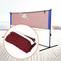 1pc Portable Badminton Net with Fixing Rope for Competition Practising Training