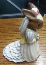 Royal Doulton Bride Bunnykins Figurine DB101 FREE P&P