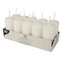 PAPSTAR Stumpenkerzen 40 Mm weiß 10er Pack