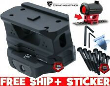 Strike Industries REX Riser sight Mount for compatible T1 Optics Red Dots BLACK