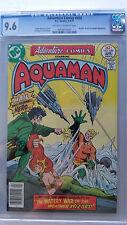 Adventure Comics #450 CGC 9.6 NM+  Aquaman