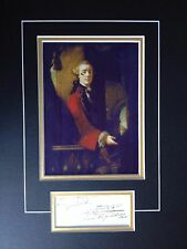 1st EARL CATHCART - DISTINGUISHED ARMY OFFICER IN U.S.A -  SUPERB SIGNED DISPLAY