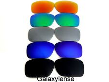 Galaxy Replacement Lenses For Oakley Big Taco Black&Blue&Grey&Green&Red 5 Pairs