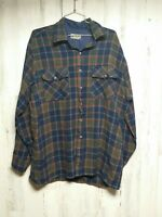 Vintage Backpacker Men's XL Thick Arcrylic Flannel Shirt