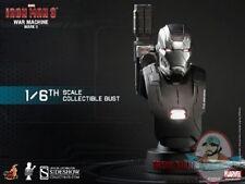 1/6 Iron Man Iron Man 3 War Machine Mark 2 Collectible Bust Hot Toys