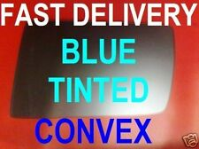 MERCEDES W202/ W140 C/S CLASS DOOR WING MIRROR GLASS BLUE CONVEX