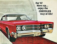1967 Chrysler 16-page Canada Sales Brochure Catalog - 300 Newport New Yorker