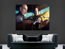 BREAKING BAD TV SERIES  ART WALL LARGE IMAGE GIANT POSTER !!