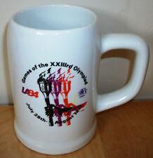 1984 Los Angeles Summer Olympics Torch XXIIIrd Olypiad Large Coffee Mug