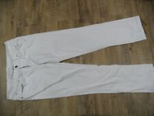 SEVEN FOR ALL MANKIND tolle straight fit Jeans weiß m. Strass Gr. 31 TOP KüA1117