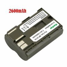 1x Kastar Battery for Canon BP-511 BP-511A BP-512 BP-514 FV10 FV100 FV2 FV20