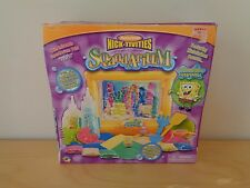NEW Nickelodeon SpongeBob SquarePants SqandArium Underwater Sculpting Sand RARE