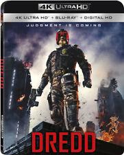 Dredd -  ULTRA 4K HD Blu Ray  -  with slipcover  - sealed
