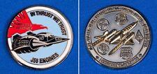 LOCKHEED SKUNK WORKS SR-71 BLACKBIRD CHALLENGE COIN - PRATT & WHITNEY J58