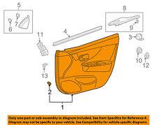 TOYOTA OEM 09-10 Corolla Front Door-Interior Trim Panel Left 6762012G40B0