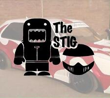 The Stig DOMO Hater Adesivi Sticker RACE RASER Fun JDM OEM Dub like