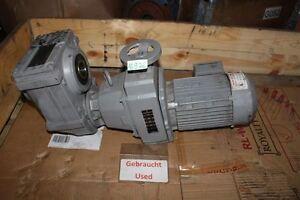 SEW 0,75 Kw 15-77 Min Gear Motor FA47D16DT80N4 Adjustable Gear Variable