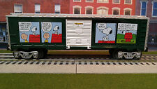 Lionel Peanuts Christmas Boxcar Train Freight Car Snoopy Charlie Brown 6-30193 B