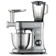 TurboTronic Full Set Professional SS Food Stand Mixer Mincer Blender +Timer