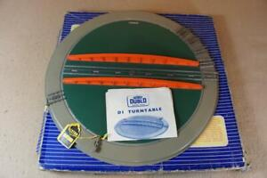 Hornby Dublo boxed 3 rail D1 turntable in excellent condition