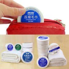 Magic Mini Compressed Towel Cotton Face Washcloth Travel Disposable Towel New
