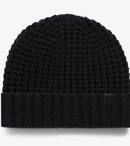 All saints hat Beanie Thermal Stich Black One Size