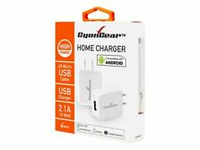 CyonGear Hi-Powered 10W / 2.1 Amp Home Charger Micro USB cable included - White